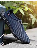 cheap -Men's Comfort Shoes Mesh Summer Loafers & Slip-Ons Black / Gray / Blue