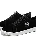 Недорогие -Муж. Комфортная обувь Полиуретан Осень На каждый день Кеды Нескользкий Черный / Темно-синий