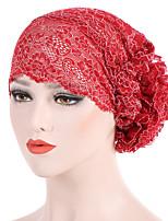 Недорогие -Жен. Классический / Праздник Широкополая шляпа - Кружевная отделка Цветочный принт