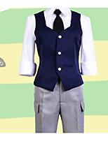 economico -Ispirato da Assassinio aula Cosplay Anime Costumi Cosplay Abiti Cosplay Semplice Canottiera / Camicia / Pantaloni Per Per donna Costumi Halloween