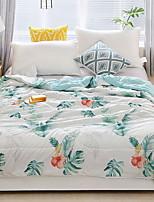 baratos -Confortável - 1 Cobertura de Cama Verão Poliéster Floral