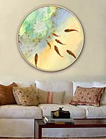 cheap -Framed Canvas / Framed Set - Animals / Floral / Botanical Plastic Illustration