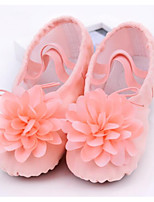 abordables -Fille Chaussures de Ballet Toile Plate / Basket Talon Plat Chaussures de danse Rose / Chair
