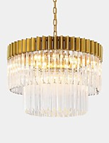 billiga -QIHengZhaoMing 6-Light Ljuskronor Glödande Elektropläterad Metall 110-120V / 220-240V Varmt vit Glödlampa inkluderad