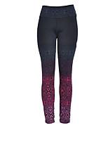 cheap -Women's Daily Basic Legging - Color Block High Waist