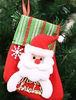 Недорогие -Чулки / Рождество Праздник Нетканый материал Для вечеринок Рождественские украшения