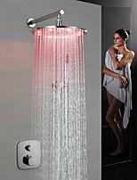 Недорогие -Смеситель для раковины для ванной комнаты - современный хромированный настенный латунный клапан