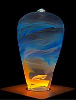 Недорогие -1шт 3 W 160 lm E26 / E27 ST64 1 Светодиодные бусины Высокомощный LED Творчество / Новый дизайн / Декоративная Тёплый белый 90-240 V