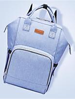Недорогие -Жен. Мешки Полиэстер рюкзак Узоры / принт Оранжевый / Серый / Лиловый