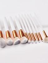 Недорогие -10 в комплекте Кисти для макияжа профессиональный Кисть для румян / Кисть для теней / Кисть для помады Закрытая чашечка Деревянные / бамбуковые