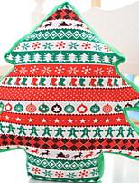 Недорогие -Наволочка / Рождественские украшения Новогодняя тематика / Праздник Хлопковая ткань Рождественская елка Рождественские украшения