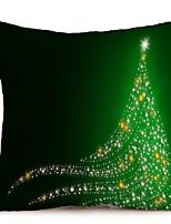 Недорогие -Наволочка Праздник Ткань Прямоугольный Оригинальные Рождественские украшения