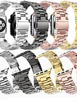 baratos -Pulseiras de Relógio para Apple Watch Series 4/3/2/1 Apple Fecho Clássico Aço / Aço Inoxidável Tira de Pulso