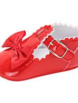 Недорогие -Мальчики / Девочки Обувь Полиуретан Весна & осень Удобная обувь / Обувь для малышей Ботинки Бант / На крючках для Дети Синий / Розовый / Хаки