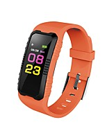 cheap -Smart Bracelet Smartwatch JSBP-H2 for Android iOS Bluetooth Sports Waterproof Heart Rate Monitor Blood Pressure Measurement Touch Screen Pedometer Call Reminder Activity Tracker Sleep Tracker