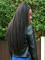 abordables -6 offres groupées Cheveux Indiens / Cheveux Vietnamiens Droit Yaki Non Traités / Cheveux humains Cadeaux / Costumes Cosplay / Tissages de cheveux humains 8-28 pouce Tissages de cheveux humains