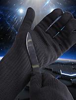 Недорогие -1 пара Полиэтилен Стальная проволока Защитные перчатки Безопасность и защита Износостойкий