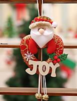 baratos -Enfeites de Natal Natal Tecido Novidades Decoração de Natal