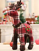 baratos -Enfeites de Natal Natal Tecido Desenho Animado Decoração de Natal