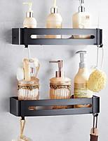 Недорогие -Полка для ванной Новый дизайн Современный Алюминий 1шт На стену