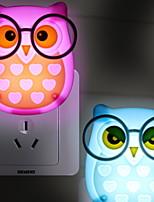 Недорогие -1шт LED Night Light От электросети Мультипликация / Новый дизайн / Безопасность <=36 V