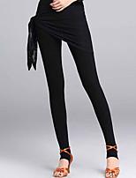 cheap -Latin Dance Leggings / Tights Women's Performance Modal / Lace Lace / Ruching Natural Pants
