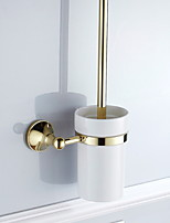 Недорогие -Держатель для ёршика Новый дизайн Современный Латунь 1шт На стену