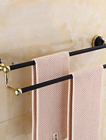 cheap -Towel Bar New Design Contemporary Stainless Steel / Iron 1pc Double Wall Mounted