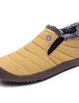 baratos -Homens Sapatos Confortáveis Sintéticos Inverno Mocassins e Slip-Ons Manter Quente Preto / Amarelo / Azul
