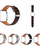 billiga -Klockarmband för Fitbit Blaze Fitbit Läderloop Äkta Läder Handledsrem