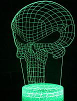 billiga -1st 3D nattlampa Ändring USB Touch Sensor / Häftig 5 V
