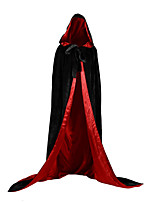 cheap -Witch Vampire Coat Cosplay Costume Party Costume Unisex Christmas Halloween Carnival Festival / Holiday Halloween Costumes Outfits Green / Blue / Dark Green Not Specified Cover Up Halloween / Satin