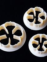 Недорогие -Инструменты для выпечки пластик Очаровательный Торты / Печенье Stamper & Scraper / Десерт Декораторы 1шт