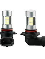 Недорогие -2pcs H9 / H11 / 9005 Автомобиль Лампы 35 W SMD 3014 1800 lm 54 Светодиодная лампа Противотуманные фары Назначение