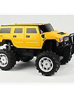 baratos -Carro com CR Rastar 28800 4CH 2.4G Jipe (Fora de Estrada) 1:14 8 km/h KM / H Húmido / Controle Remoto