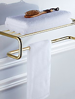 baratos -Prateleira de Banheiro Novo Design Clássica Latão 1pç Montagem de Parede