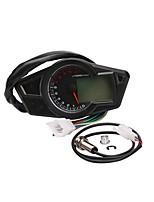 Недорогие -MLS005 Мотоцикл Спидометр для Мотоциклы Все года Универсальный измерительный прибор тахометр