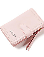 cheap -Women's Bags PU(Polyurethane) Wallet Buttons Blue / Blushing Pink