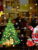 baratos -Filme de Janelas e Adesivos Decoração Natal Personagem PVC Adesivo de Janela / Adorável / Engraçado
