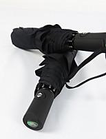 Недорогие -Ткань Муж. Солнечный и дождливой Складные зонты