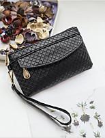 cheap -Women's Bags PU(Polyurethane) Clutch Zipper Beige / Purple / Brown