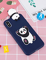 economico -Custodia Per Apple iPhone X / iPhone 8 Plus Fantasia / disegno / Fai da te Per retro Panda Morbido TPU per iPhone X / iPhone 8 Plus / iPhone 8