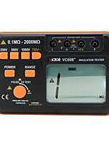 Недорогие -1 pcs Пластик Тестер емкости сопротивления Измерительный прибор 2000 VICTOR