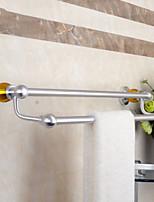 Недорогие -Держатель для полотенец Новый дизайн Современный Алюминий 1шт Двуспальный комплект (Ш 200 x Д 200 см) На стену