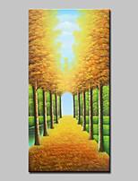 abordables -Peinture à l'huile Hang-peint Peint à la main - Paysage Classique / Moderne Toile