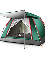 Недорогие -TANXIANZHE® 5 человек на открытом воздухе Семейный кемпинг-палатка С защитой от ветра Дожденепроницаемый Воздухопроницаемость Устойчивость к УФ Автоматический Однокомнатная Однослойный 2000-3000 mm