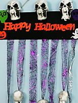 Недорогие -Праздничные украшения Украшения для Хэллоуина Хэллоуин Развлекательный Cool Золотой / Белый / Желтый 1шт