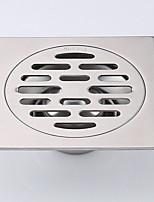 Недорогие -Слив Новый дизайн Современный Нержавеющая сталь 1шт истощать Установка на полу
