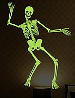 Недорогие -Праздничные украшения Украшения для Хэллоуина Хэллоуин Развлекательный / Декоративные объекты Декоративная / Cool Зеленый 1шт