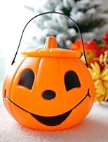 Недорогие -Праздничные украшения Украшения для Хэллоуина Хэллоуин Развлекательный Cool Желтый 1шт